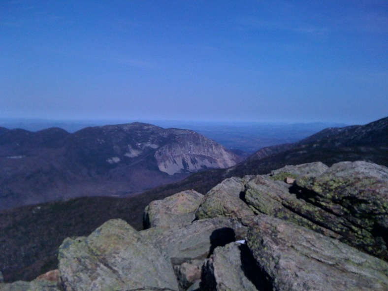 Across Franconia Notch is Cannon Mountain