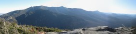 Panaroma of the Franconia Ridge.