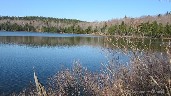 Round Pond in the Belknap Range.