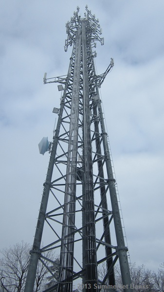 The cell tower.  We were amazed at how big this thing was.