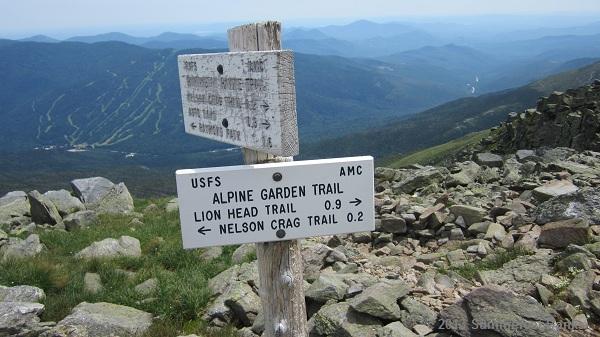 Next up:  Alpine Garden Trail!