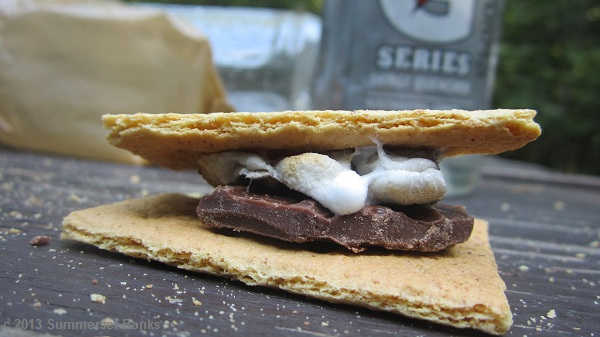 S'mores, a real trail treat!