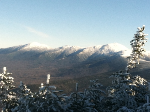 The Presidentials, ready for winter.
