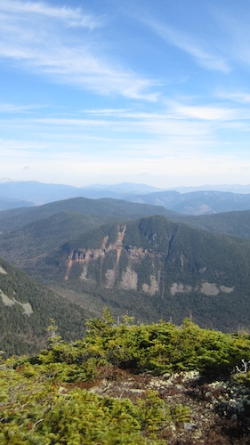 The cliffs of Mt. Lowell as seen from Signal Ridge.