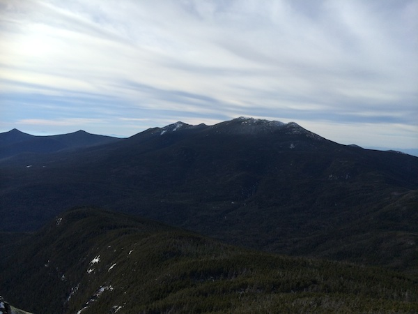 The Franconia Ridge from the summit of Garfield.
