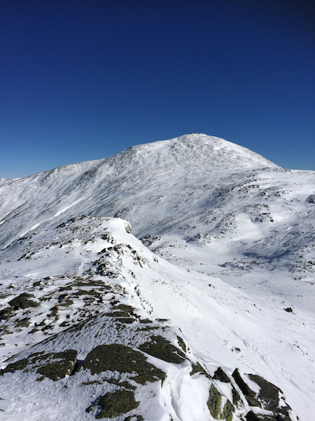 View of Mt. Washington from the summit of Monroe.