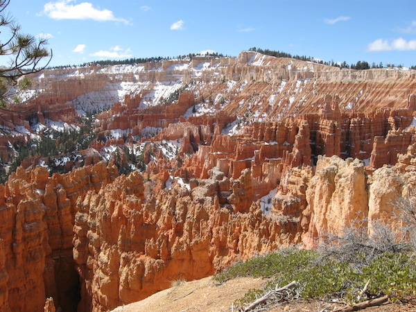 First view into the Bryce Amphitheater.