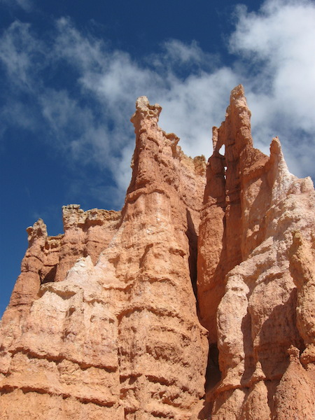 Hoodoos along the trail.