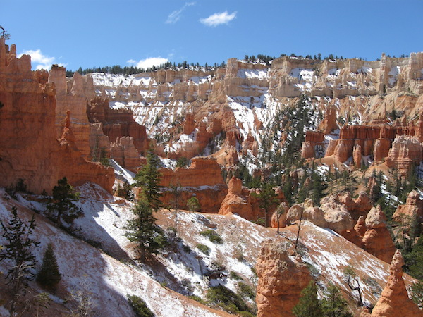 More of Bryce, yes, that white stuff is snow!