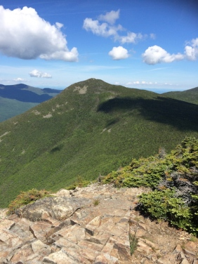 Liberty, as seen from the summit of Flume, the next peak to hike to.