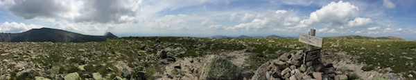 Panorama from Hamlin Peak.