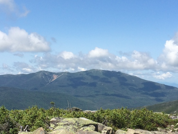 Franconia Ridge from the summit of Guyot.  Nice day to be above treeline!