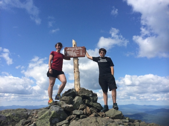 On Avery Peak, #67!