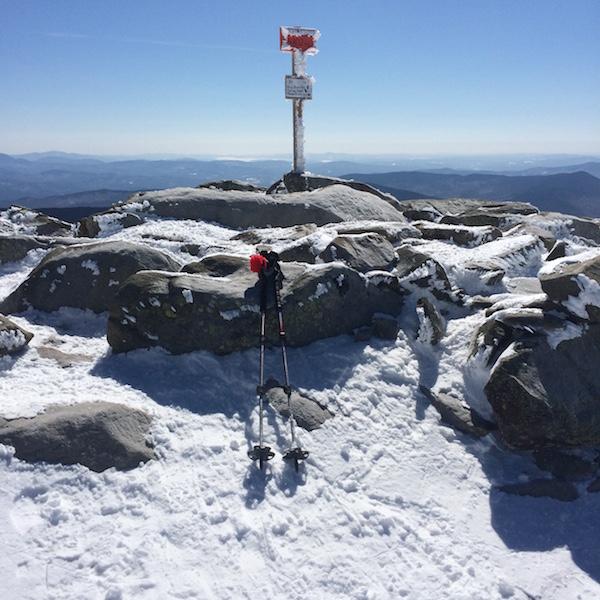 The summit of Moosilauke.