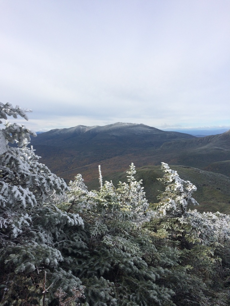 The Franconias as seen from South Twin.